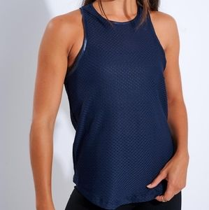 "Koral ""Aerate Netz"" Athletic Workout Tank Top"